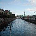 Copenhagen Denmark Christianshavns Canal in Copenhagen, Denmark