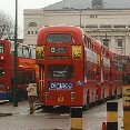 Photo The double decker buses in London London United Kingdom