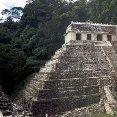 Mexico City Mexico Palenque Mayan Ruins.