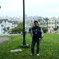 Alamo Square Park Row in San Francisco., New Orleans United States