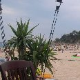 The beach in Lloret de Mar.