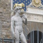 Florence Italy Photos of Michelangelo's David.