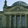 The Reichstag building, Berlin.