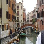 Photo from the gondola, Venice, Venice Italy