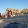 On the beach in San Vito., San Vito Lo Capo Italy