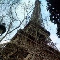 Photo of the Eiffel Tower in Paris.