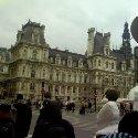 The city centre of Paris, France.