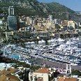 Panoramic photo of Montecarlo., Monaco Monaco