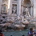 Photos of the Trevi Fountain in Rome.