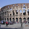 Photos of the Colosseum in Rome.