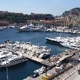 The yachts of Montecarlo, Monaco.