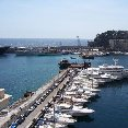 The harbour of Montecarlo.