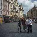 Photo on Old Town Square in Prague.