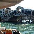 Venice Italy Gondola trip through the canals of Venice.