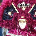 Photos of the carnival celebrations in Venice.