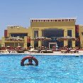 The swimming pool at the Tulip resort., Marsa Alam Egypt