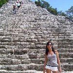 The Maya ruins of Coba, Mexico., Playa del Carmen Mexico