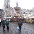 The fountain of Piazza Duomo in Trento.