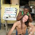 Photo Getting a Jamaican hair do, a must! Negril Jamaica