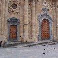 Sicily Italy Basilica in Sciacca, Sicily.