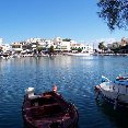 Pictures of the typical Greek boats on the island of Crete.