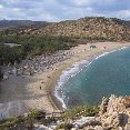 The beaches of Crete in October.