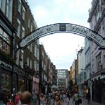 Carnaby Street in London., London United Kingdom