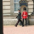 Changing  the Guard at Buckingham Palace, London.