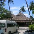 The airport of Ko Samui, Thailand.