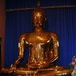 The Golden Buddha.