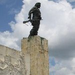 The statue and the tombe of Che Guevara in Santa Clara, Cuba.