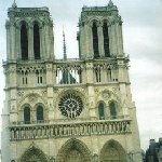 Photo of the Notre Dame in Paris.