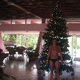 Christmas holiday in Cuba.
