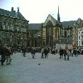 The Dutch Royal Palace on Dam Square, The Netherlands.