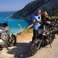 Motor Bike trip around Kefalonia, Greece.