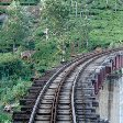 The Nilgiri Mountain Railway in Kerala, India.