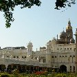Panoramic photos of the Mysore Palace Ground.