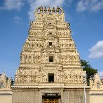 The Sri Bhuvaneswari temple in Mysore, India., Mysore India