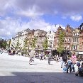 Photos of Old Market Square in Nottingham, United Kingdom.