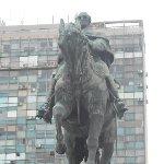 Montevideo Uruguay Statue of Jose Gervasio Artigas in Montevideo, Uruguay