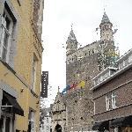 Maastricht Netherlands Onze-Lieve-Vrouwe basilica in Maastricht, Holland