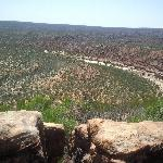 Lookoutpoint in the Kalbarri National Park