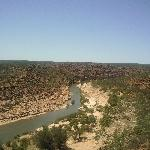The view from Nature's Window in Kalbarri
