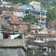 Rio de Janeiro Brazil The houses of the Rocinha favela