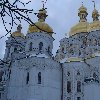 Kiev Ukraine Photos of the Holy Dormition Cathedral of the Kiev Monastery Caves