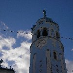 Pictures of the Blue Chuch in Bratislava