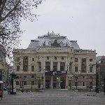 Bratislava Slovakia The Slovak National Theatre in Bratislava