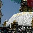 Swayambhunath Stupa in Katmundu, Myanmar