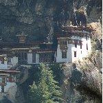 Paro Bhutan Tiger's Nest monastery of Taktsang Dzong, Bhutan
