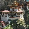 Paro Bhutan Photos of Tiger's Nest monastery of Taktsang Dzong, Bhutan